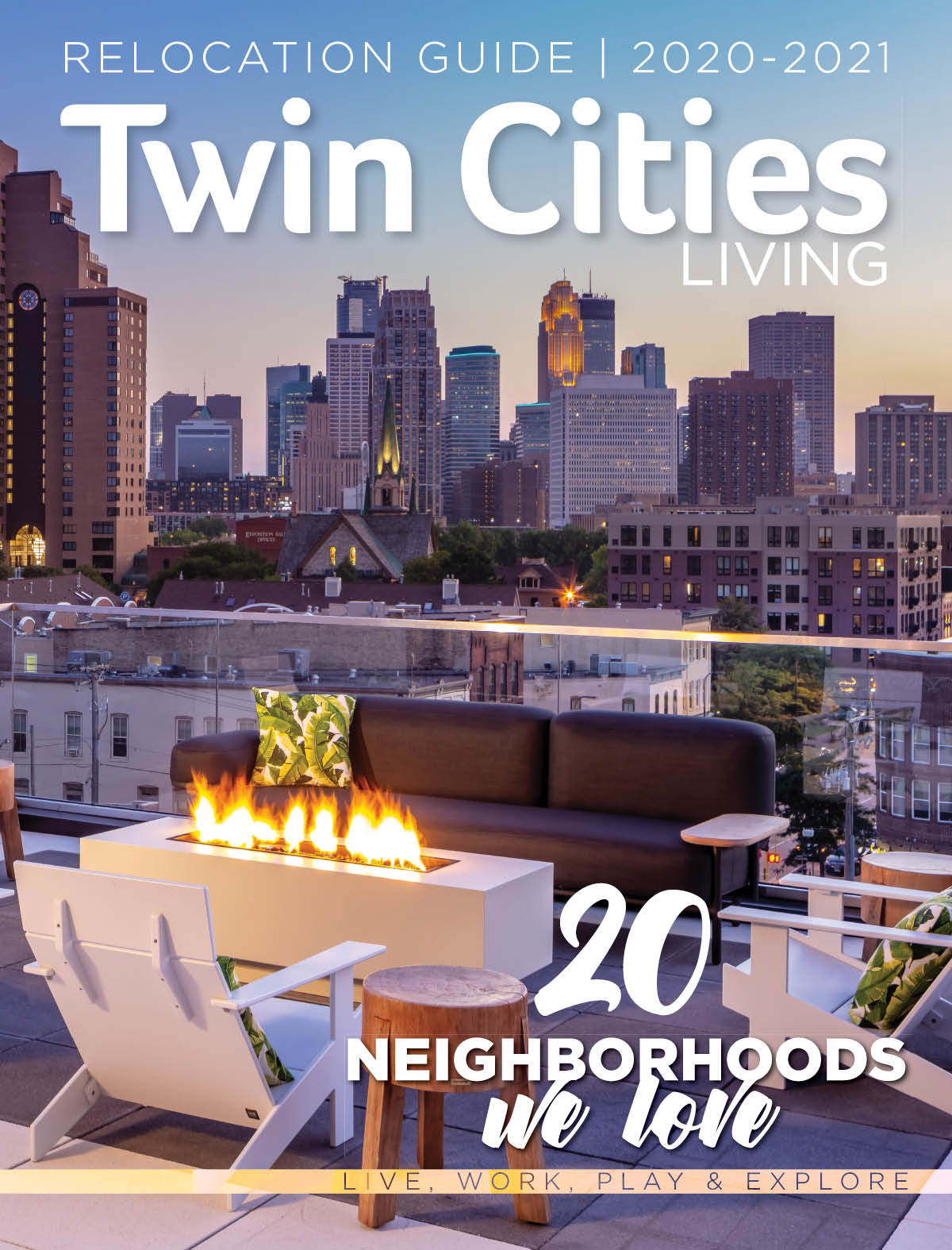 Cover of Twin Cities Living 2019