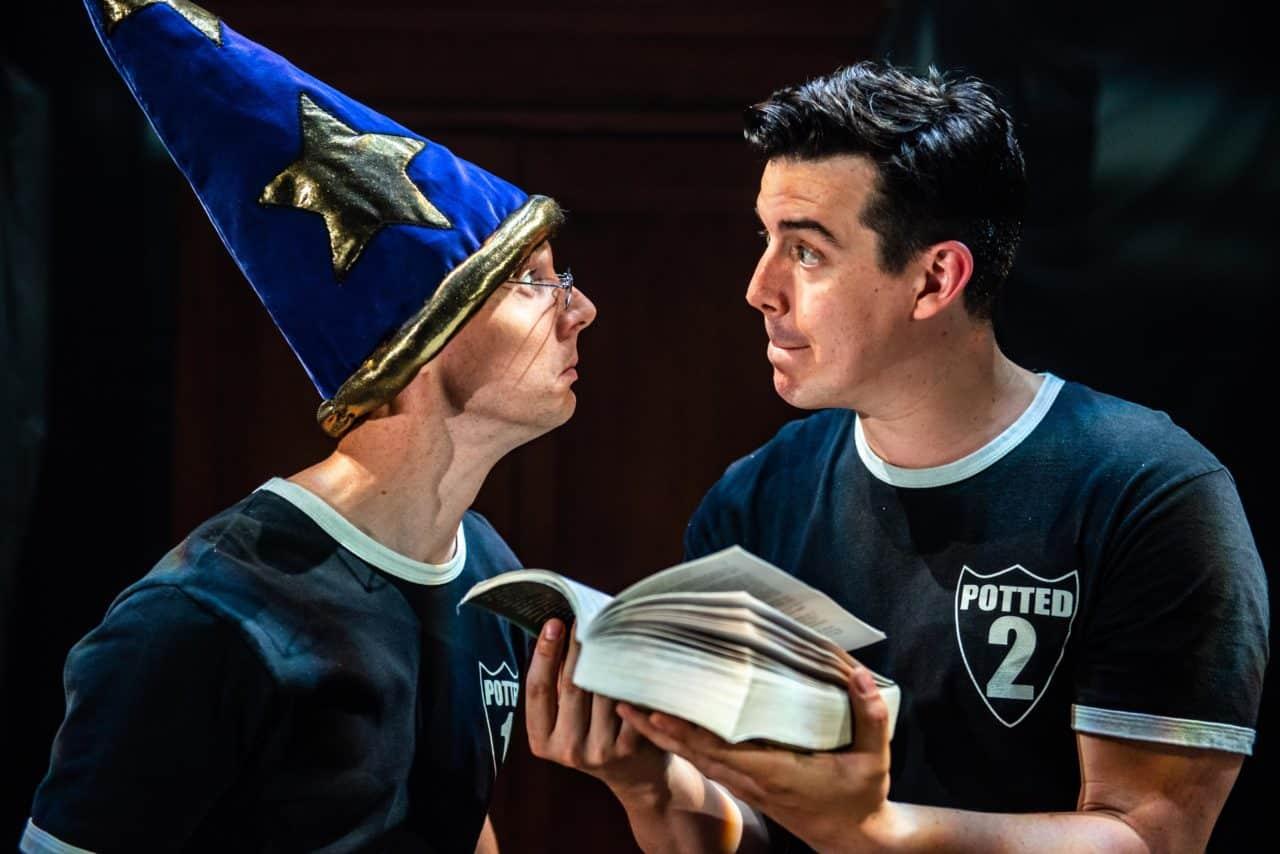 Scott Hoatson and Joseph Maudsley in Potter Potter. Photo by Dahlia Katz.