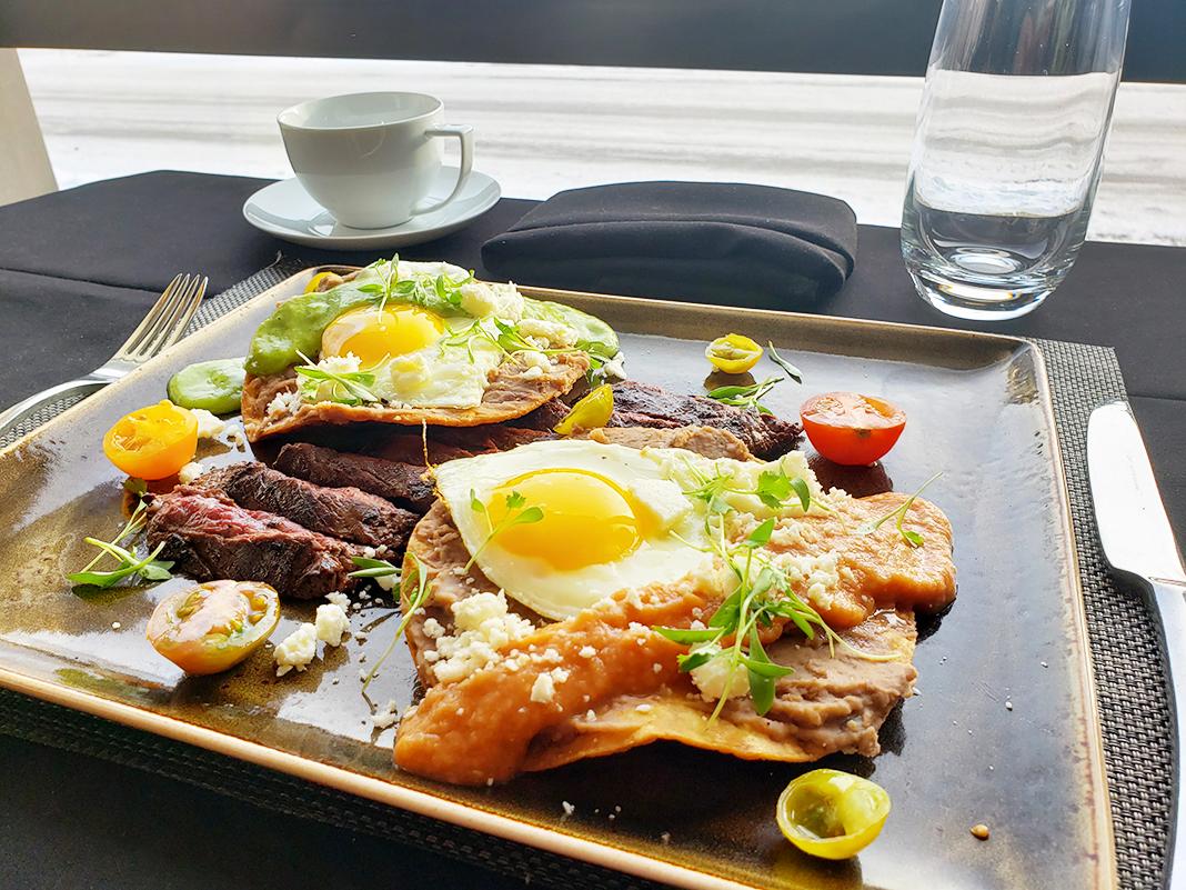 Twin Cities Steak & Eggs from Lela Restaurant at Sheraton Bloomington Hotel,