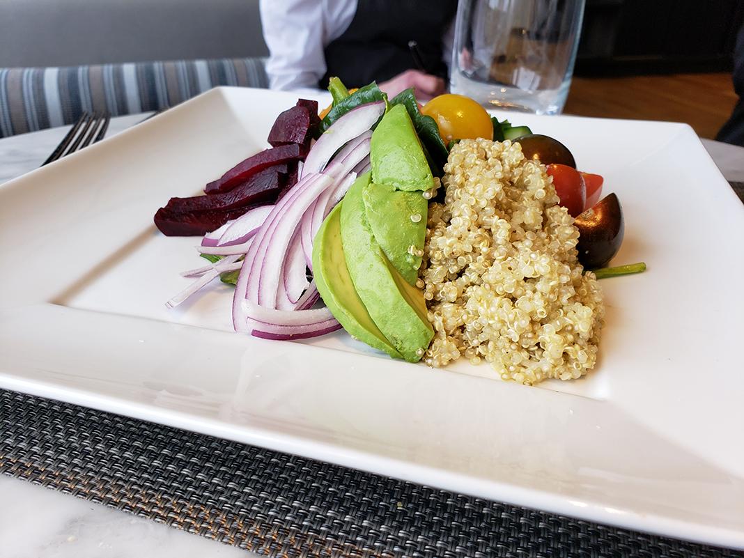 Quinoa Farmer's Salad from Lela Restaurant at Sheraton Bloomington Hotel