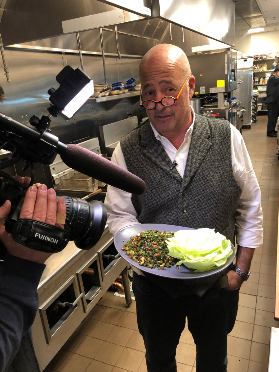 Lucky Cricket - Andrew Zimmern