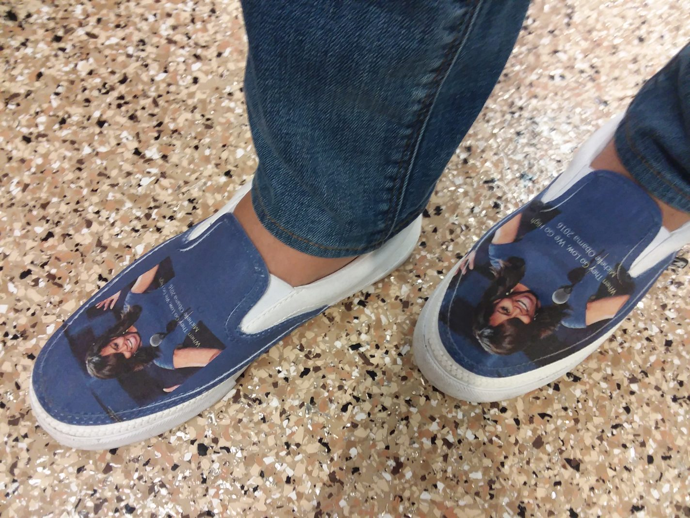 The Michelle Obama shoes