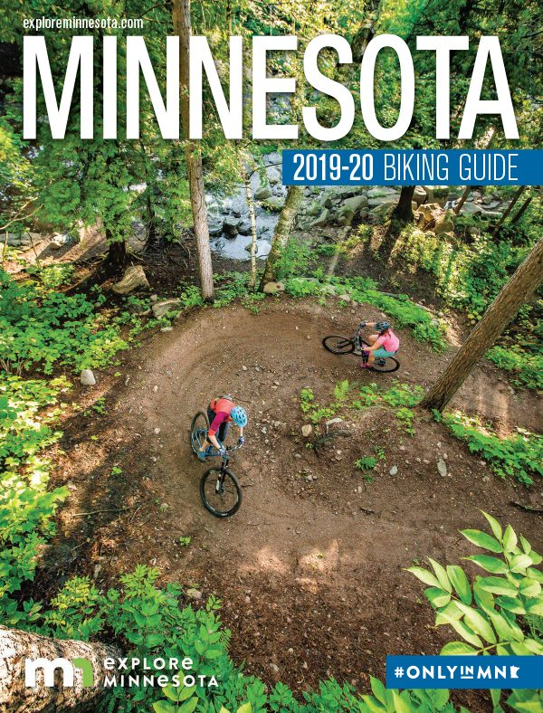Cover of Minnesota Biking Guide, 2019-2020