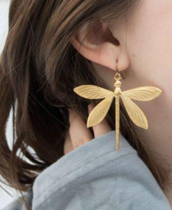 Dragonfly Earrings from Soul Flower