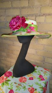 """""""Frankie,"""" one of the hats Angie Hall Sandith contributed to """"Grace."""""""