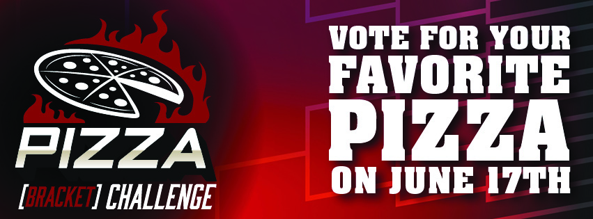 Feature image for the Pizza Bracket Challenge 2019