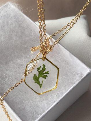Greenery Necklace by Felis Jewelry