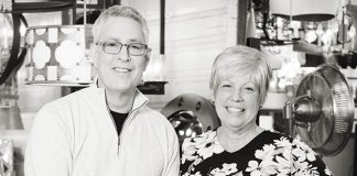 Photo of Tony and Celeste Schumacher, owners of Muska Lighting