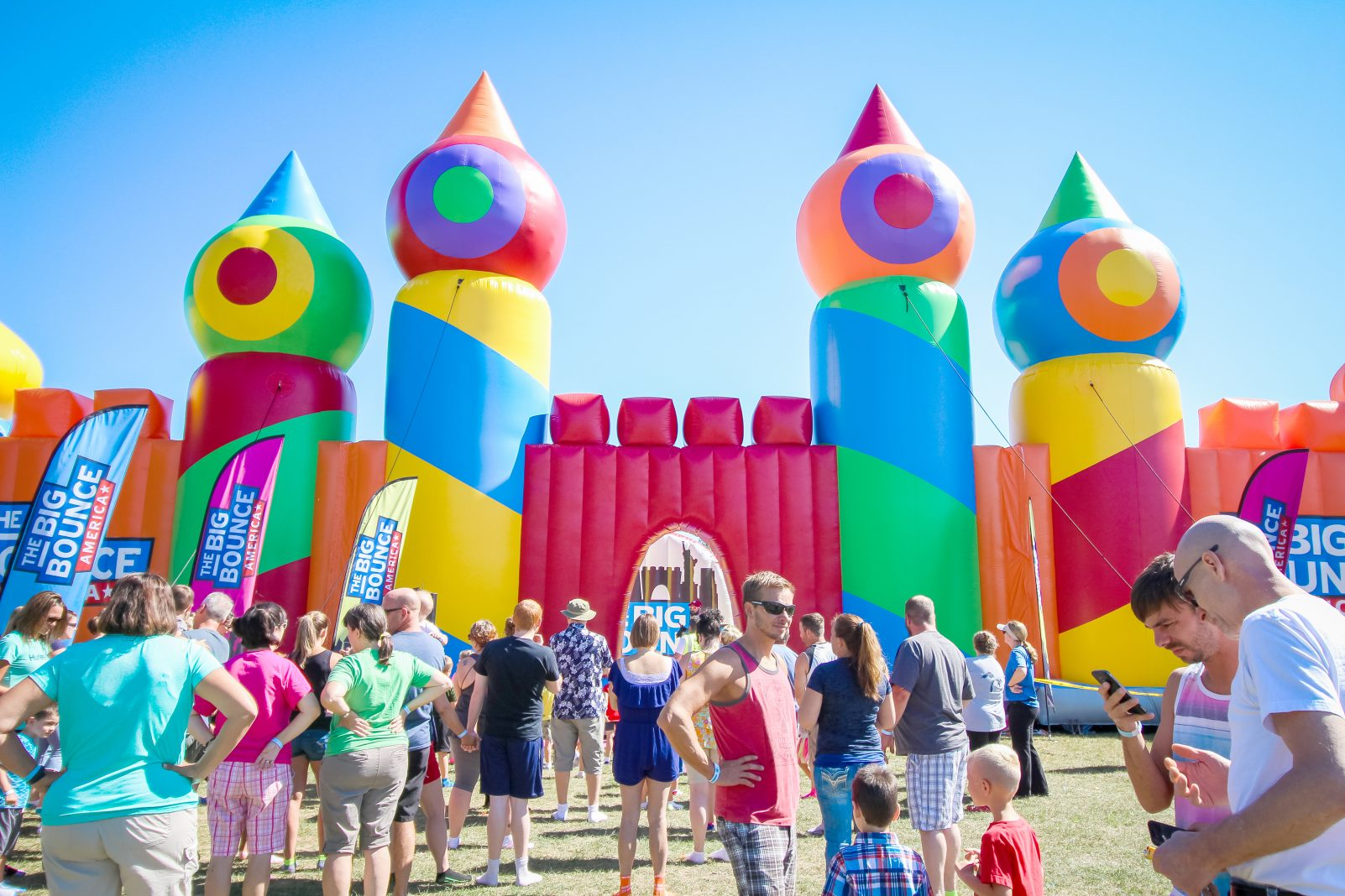 The World's Biggest Bounce House