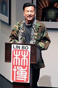 "Brian Kim as Lin Bo in ""Caught"""