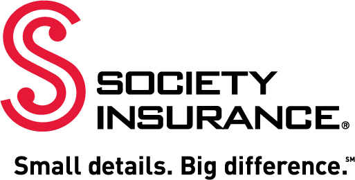 Society Insurance logo, with tagline