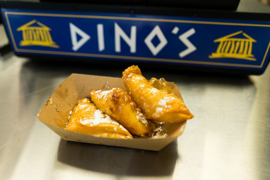 Sweet Greek Cheese Puffs