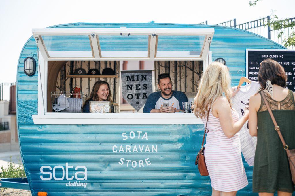 Sota Clothing Caravan Store