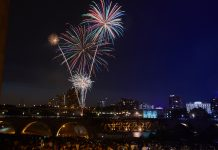 Fourth of July Fireworks at Red, White & Boom in Minneapolis