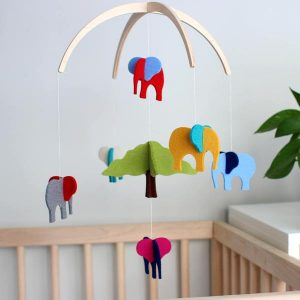 Elephant Crib Mobile