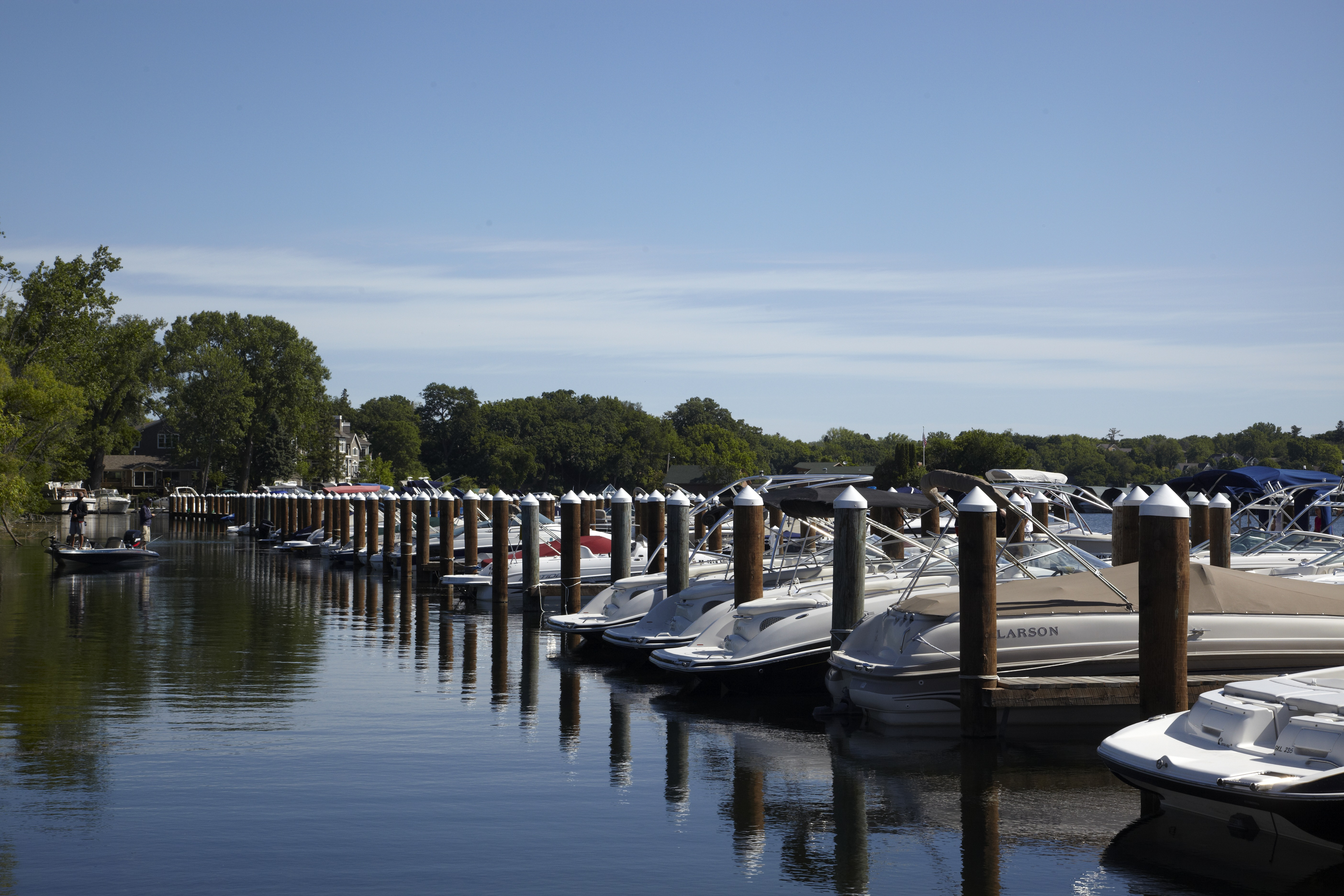 Boats in Excelsior
