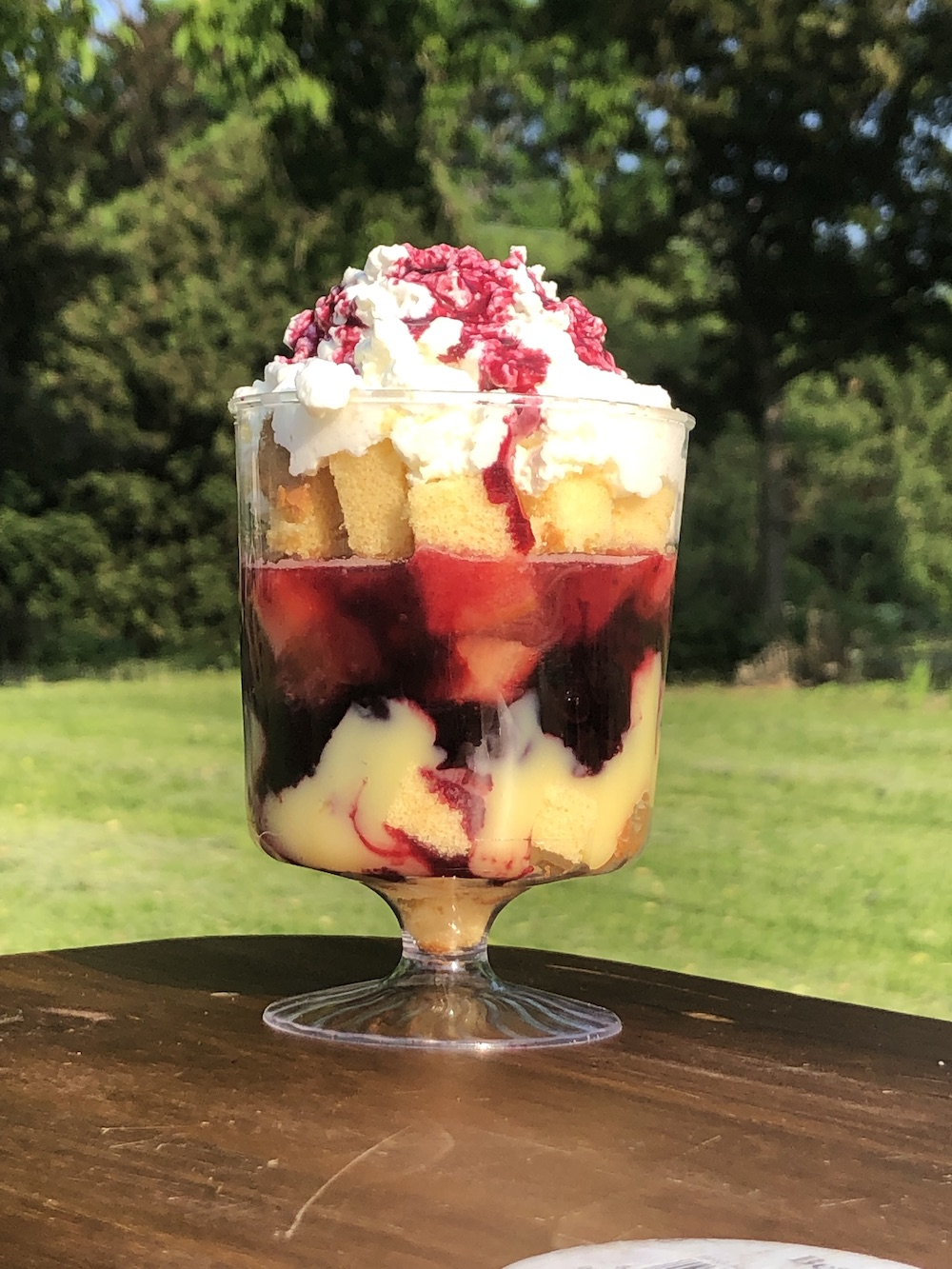 Bozzy Berries & 'Barb Trifle
