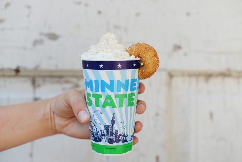 Mini Donut Latte