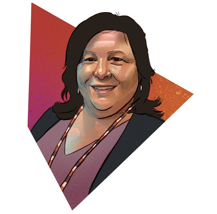 Shelly Diaz is urban liaison and project coordinator for the Mille Lacs Band of Ojibwe.