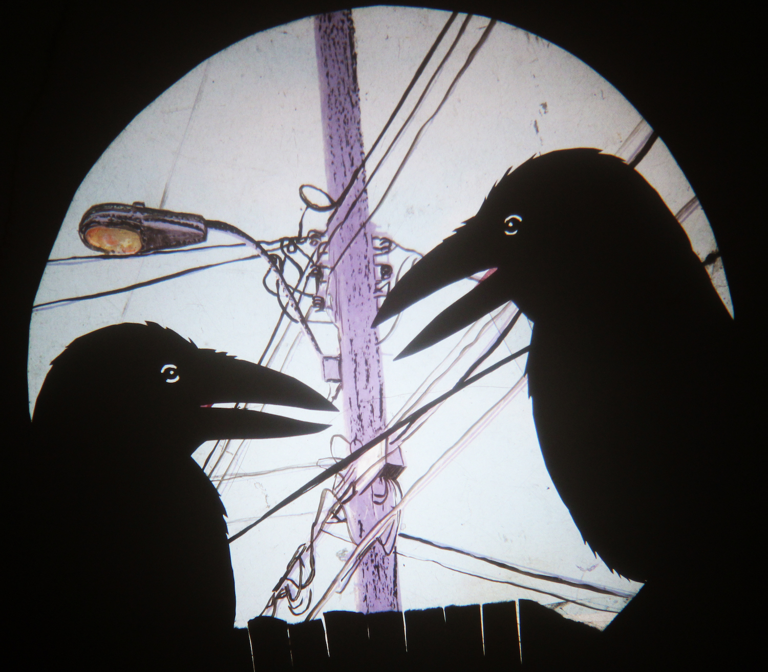 """""""Caws & Effect"""" by the Mind of a Snail Puppet Co."""