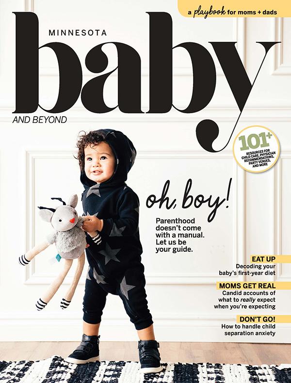 Cover of Minnesota Baby and Beyond 2019