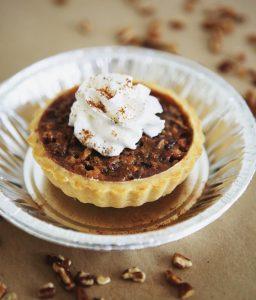 Sarah's Tipsy Pies pecan tart