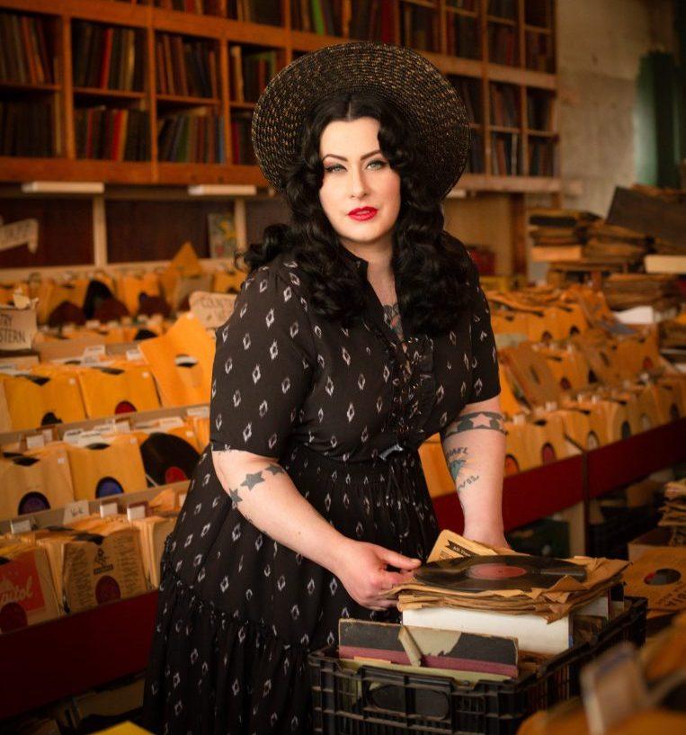 Davina Lozier, of Davina and the Vagabonds