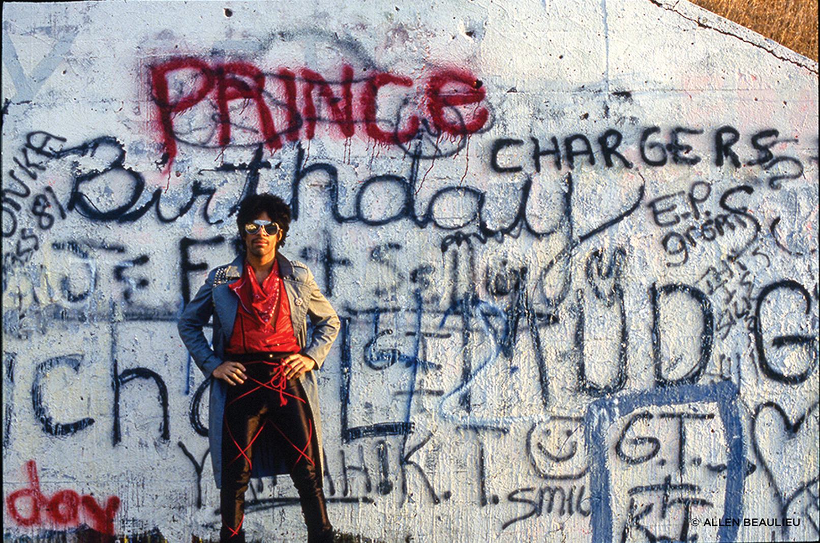"""""""Prince: Before the Rain"""" exhibit"""