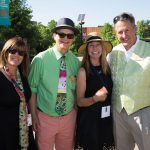 From left: Cathy Grundhauser, Tony Grundhauser (Minnesota Zoo Foundation executive director), Anita Frawley, John Frawley (Minnesota Zoo director/president)