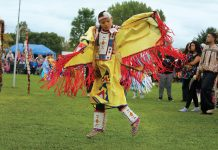 The Mahkato Wacipi Pow Wow is held each September in Land of Memories Park in Mankato