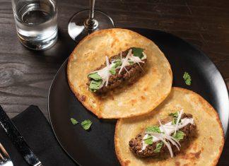 Kabab rolls at Elephant Bar