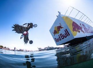 The Red Bull Flugtag in Istanbul, Turkey