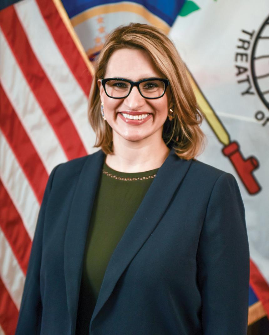 Lieutenant Governor Peggy Flanagan