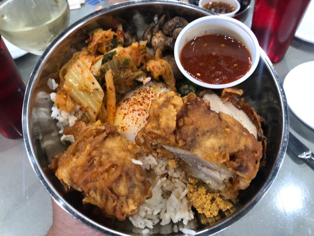 Bap Bibimbap at Bap and Chicken