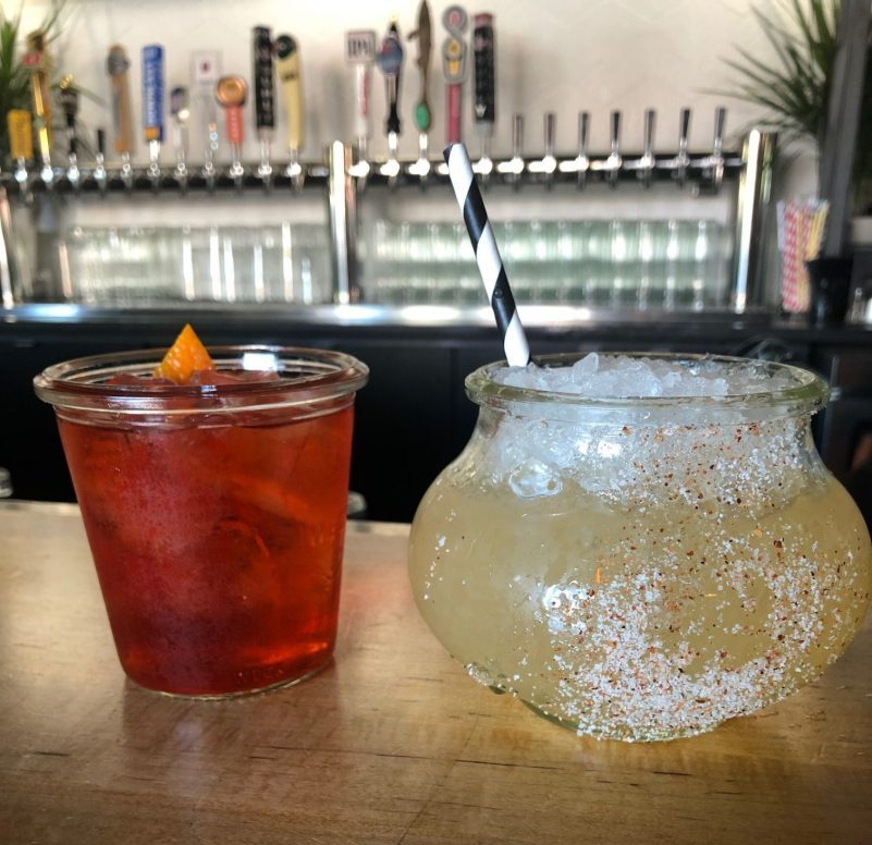 Oaxacan Negroni and You Frog I Jump, $10