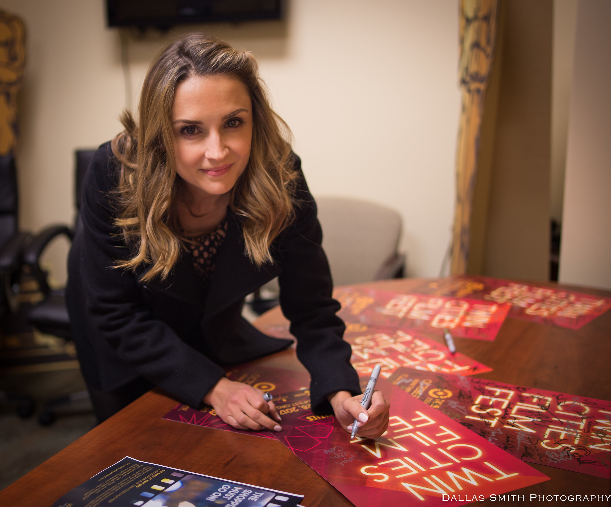 Minnesota-native actor Rachel Leigh Cook at the 2018 Twin Cities Film Fest