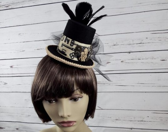 Steampunk Fascinator for Halloween by SPDJewelry