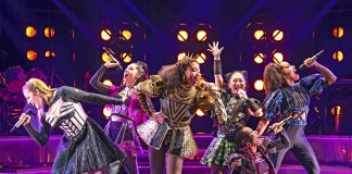 """The women of """"SIX,"""" coming to the Ordway Nov. 29-Dec. 22"""