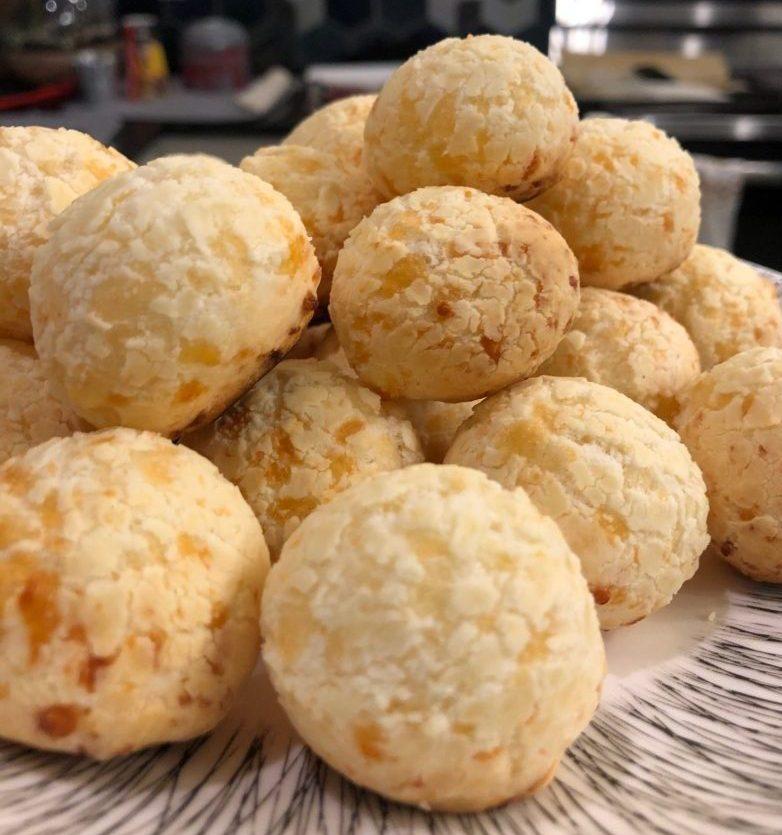 Pão de queijo from Lulus Brasilian Snacks