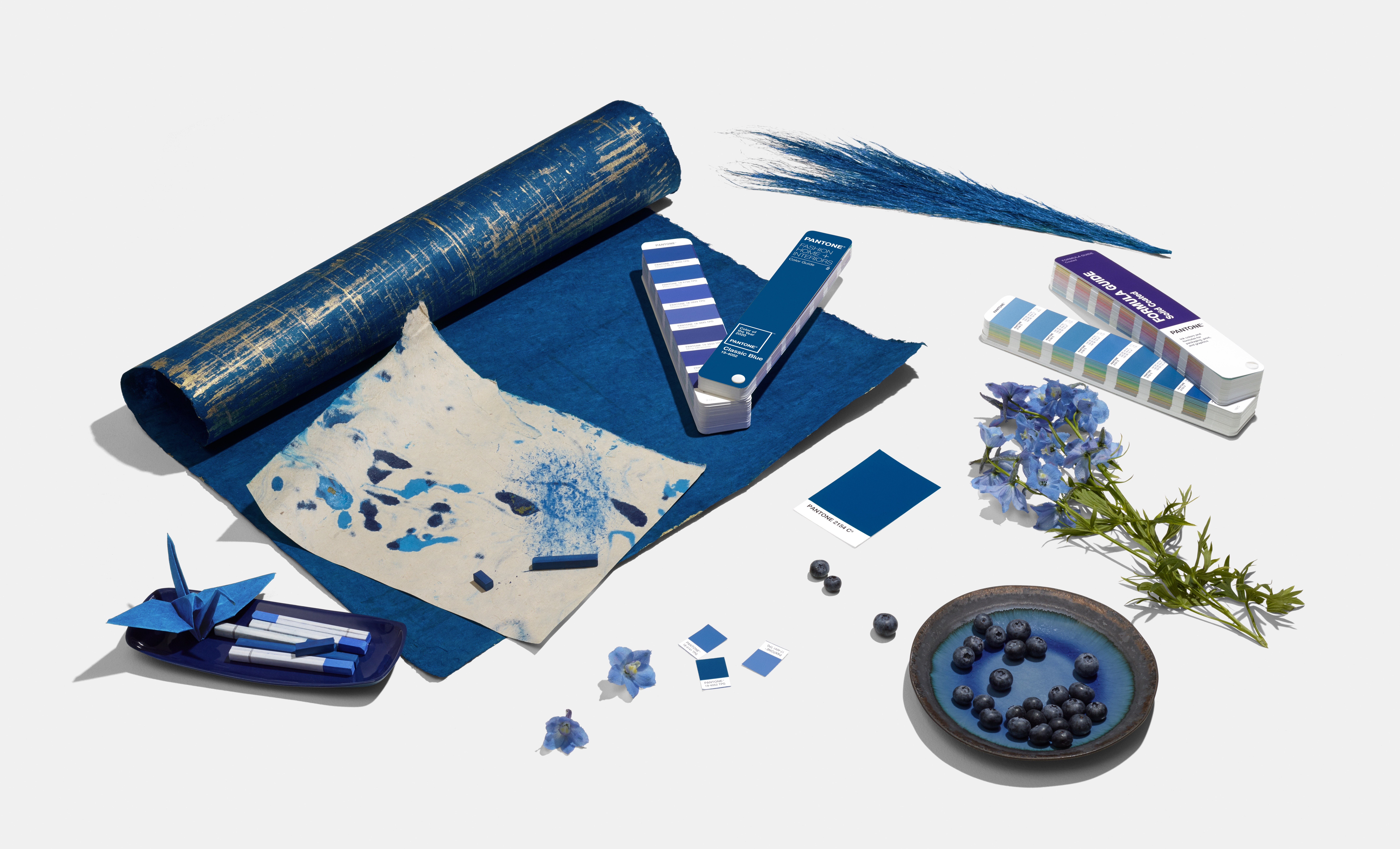 Pantone's 2020 Color of the Year is Classic Blue. Photo by Stephen Baker/Huge.