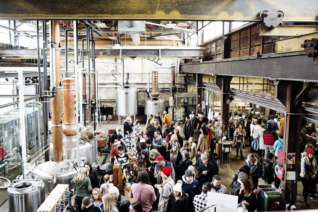 Tattersall Distilling's Holiday Market