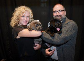 From left: Trisha Leir, Marty Leir