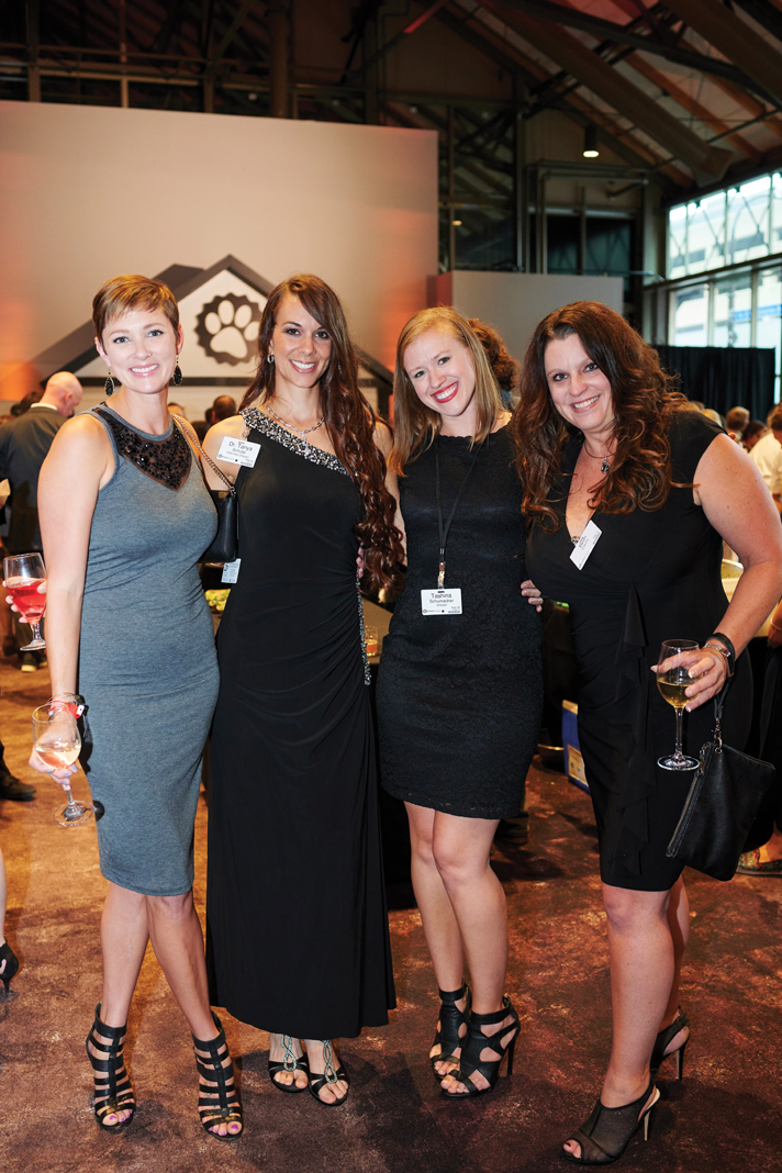 From left: Maggie Libman, Dr. Tanya Schulte, Tashina Schumacher, Beth Citurs