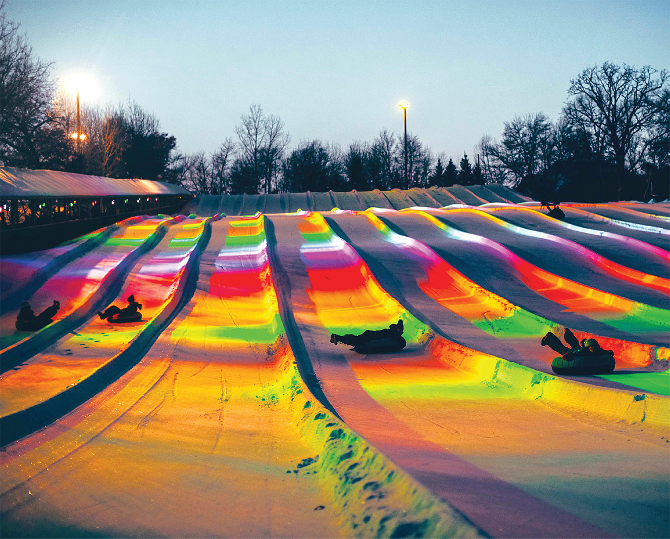 Winter To-Do List: Laser Tubing at Buck Hill