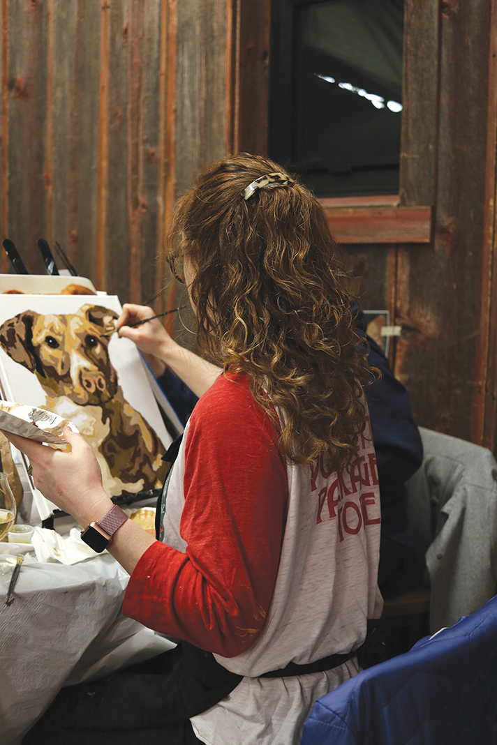 """Winter To-Do List: Gray Duck Art's """"Paint Your Own Pet"""" event"""