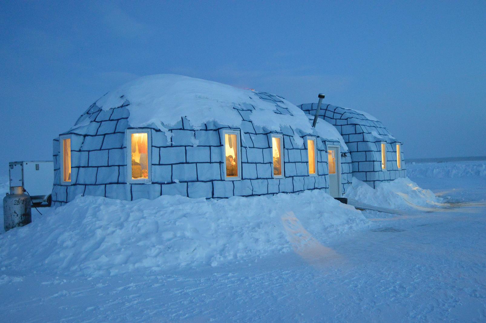 Winter To-Do List: Igloo Bar