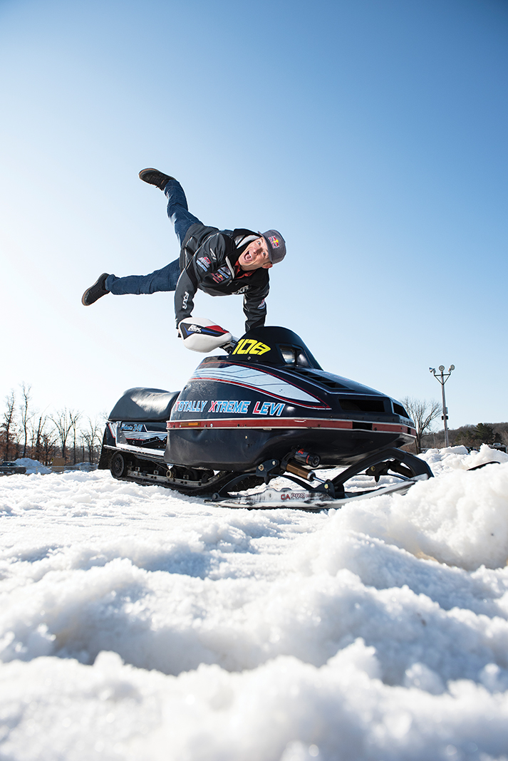 Winter To-Do List: Snowmobiling legend Levi LaVallee