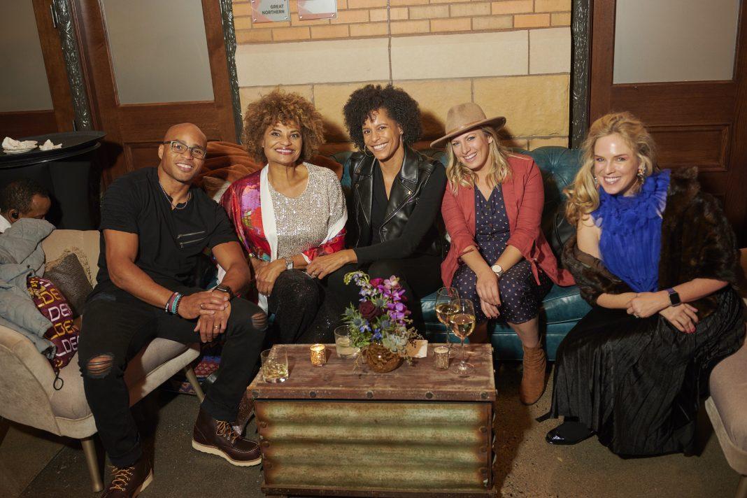 From left: Crawford Jordan, Rozane Battle, Lea B. Olsen, Rhonwen Tas, Angharad Chester-Jones