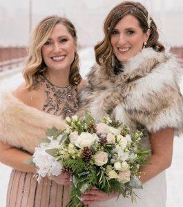 Makeup Savvy, New Year's wedding, photo by Heather Hanson