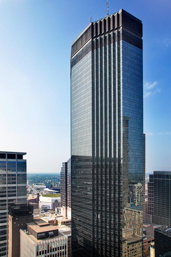 The IDS Center is Minneapolis' tallest skyscraper